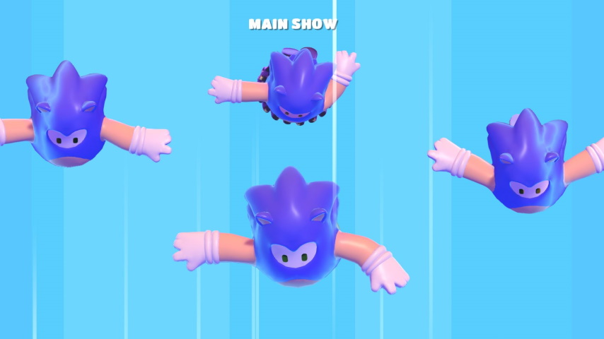 Sure, Why Not: Sonic Is Coming to <I>Fall Guys: Ultimate Knockout</I> as a Costume