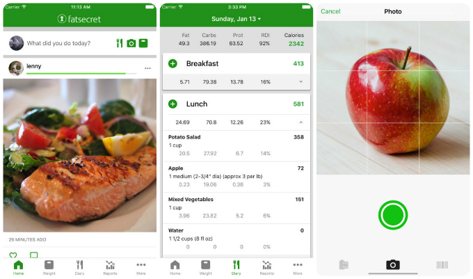 The 10 best apps to help you eat healthy and lose weight tech fatsecret680g forumfinder Images