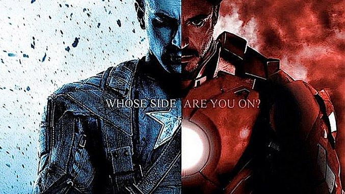 Feeling Meme-ish: Captain America, Iron Man and Crew