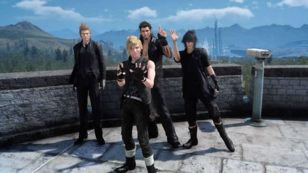 You Guys Are the Best: Friendship and Grieving in <i>Final Fantasy XV</i>