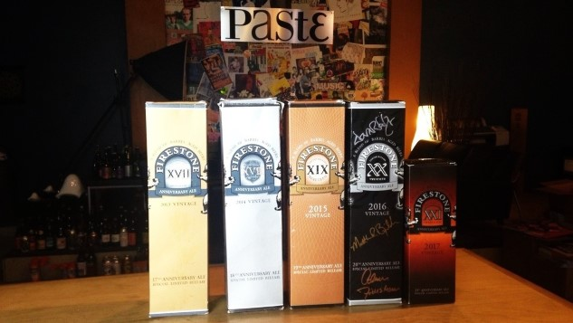 We Drank a Five-Year Vertical of Firestone Walker Anniversary Ale