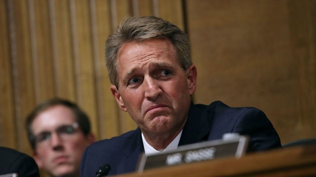 Jeff Flake Gives Up Last Bit Of Leverage, Asks Senate to Delay Kavanaugh's Vote by One Week