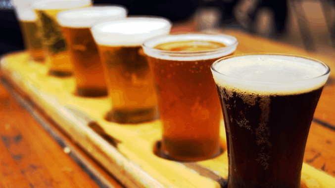 How To Host Your Own Beer Flight And Food Pairing