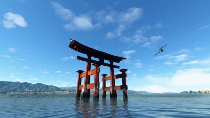 First World Update for <I>Microsoft Flight Simulator</I> Adds Japan to the Game