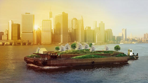 NYC's Floating Forest is Back and Better Than Ever