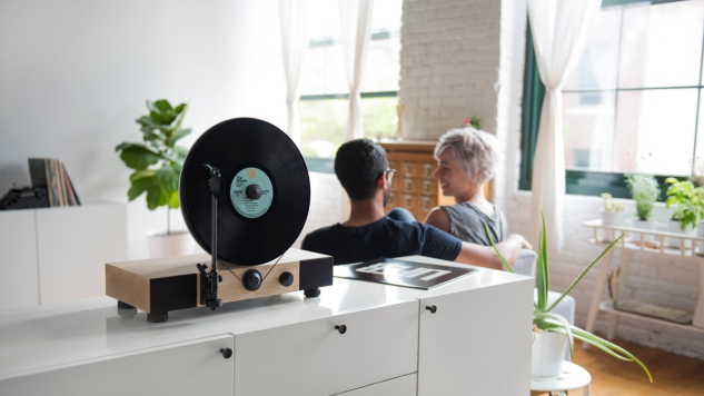 Gramovox Floating Record Player: A Gorgeous Turntable That Also Sounds Pretty Great