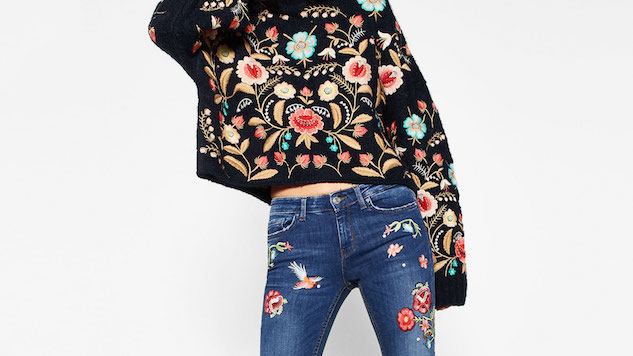 Floral Embroidery to Take You Back in Time