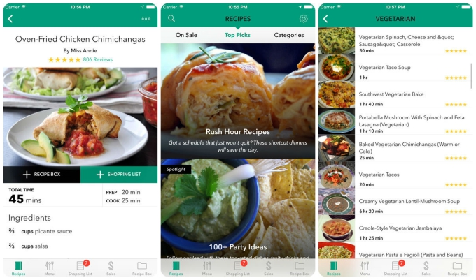 10 great apps to help you prepare your thanksgiving feast tech food offers over 500000 recipes thanks to its extensive online community they might not all be thanksgiving focused but there are plenty of ideas forumfinder Images