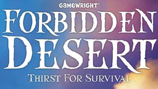 Boardgame: Forbidden Desert :: Games :: Reviews :: Paste image
