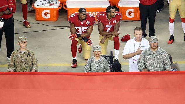 Dear NFL: Forced Patriotism Is Just Fascism