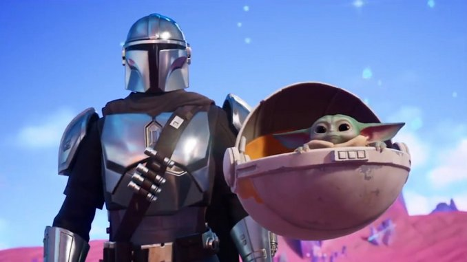 The Mandalorian, Baby Yoda come to <i>Fortnite</i> In New Season