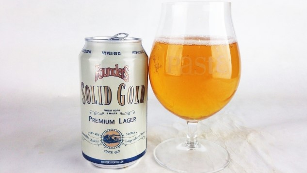 Founders Solid Gold Lager Review