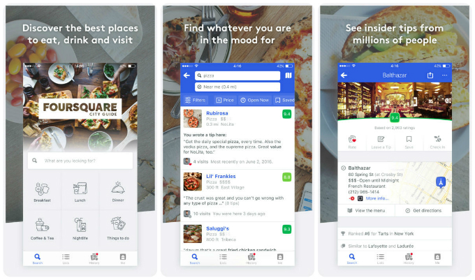 Foursquare is a well known name in social networking, but you can also use  it to get to know folk. Its City Guide helps you find the best restaurants  and ...