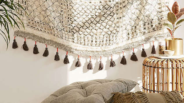 Fringe-Accented Decor That's Like Jewelry for Your Place