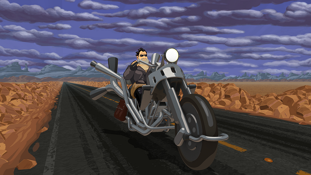 <i>Full Throttle Remastered</i> Is a Commentary on the Fate of Adventure Games