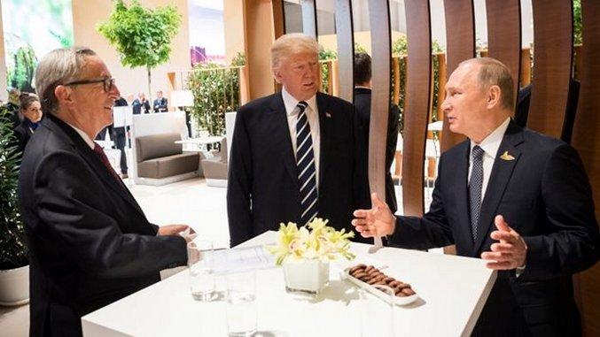 Donald Trump Had an Undisclosed Meeting with Vladimir Putin at the G20