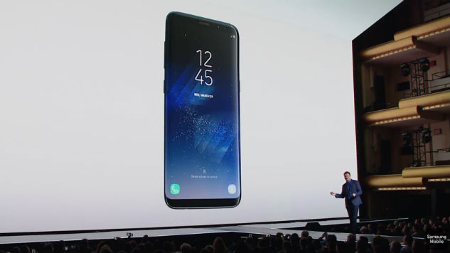 Samsung Unveils the Galaxy S8, a Nearly Bezel-Less Smartphone