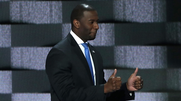 In a Shocking Upset, Progressive Mayor Andrew Gillum Won the Democratic Gubernatorial Primary in Florida