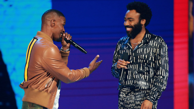 "Donald Glover Gives Awkward, Impromptu ""This Is America"" Performance at BET Awards"