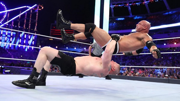 Goldberg and Brock Lesnar Had the Best Match at WrestleMania 33