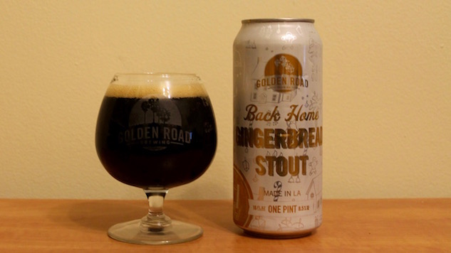 Golden Road Back Home Gingerbread Stout Review