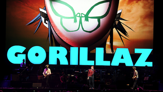 "Gorillaz's Demon Dayz Festival to Include ""Pretty Much Everyone"" Featured on <i>Humanz</i>"