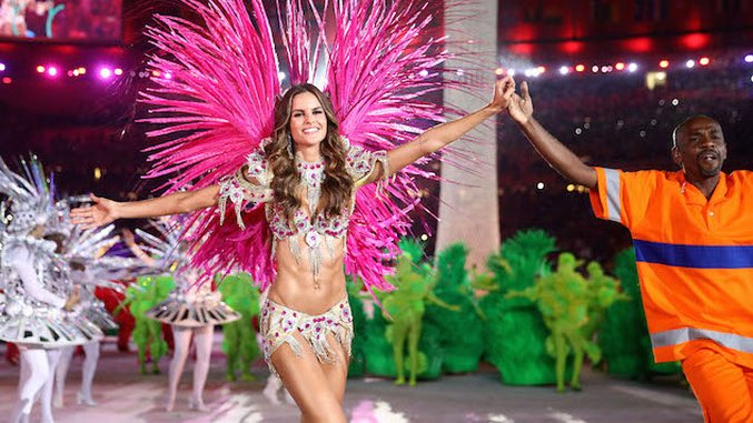 ICYMI: The Best (and Worst) Looks at the Rio 2016 Closing Ceremony
