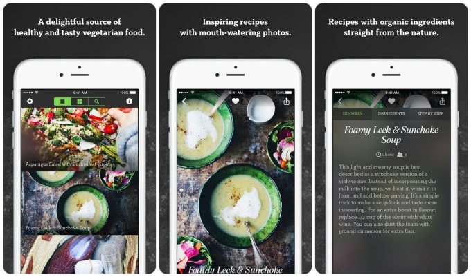 Green Kitchen Is The Perfect App For Vegetarians At Thanksgiving. The App  Provides A Wealth Of Recipe Ideas That Use The Minimum Of Gluten, Sugar, ...