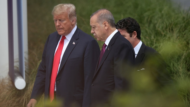 Read the Wild Letter from Trump to Erdogan (Which He Apparently Threw in the Trash)