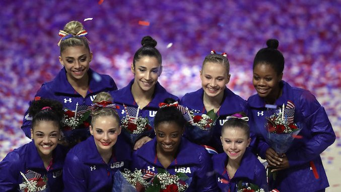 In Defense of Gymnastic Makeup at the Olympics