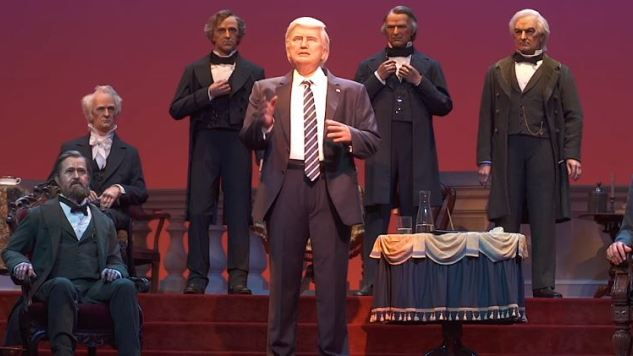 Donald Trump and The Hall of Presidents: Disney Had No Good Options