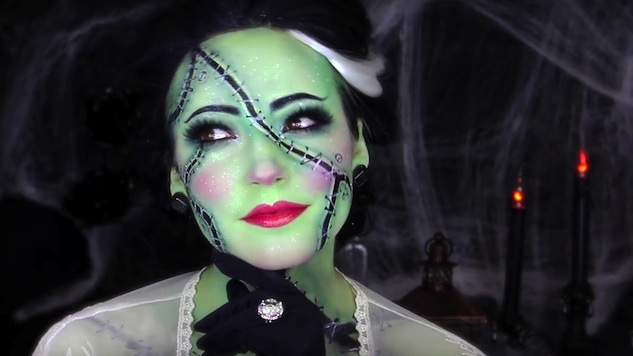 Creative Halloween Makeup Tutorials From YouTube
