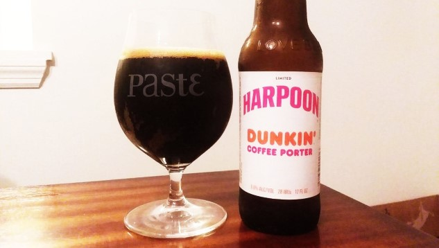 Harpoon Brewery Dunkin' Coffee Porter Review