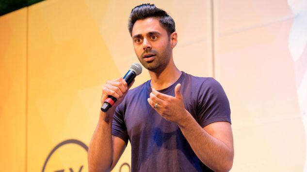 Netflix Reveals the Key Art for Hasan Minhaj's Weekly Show