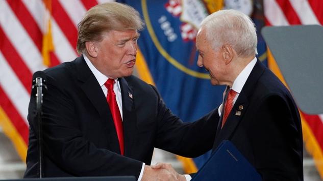 Orrin Hatch, the Longest Serving Republican in Senate History, Will Retire in 2018
