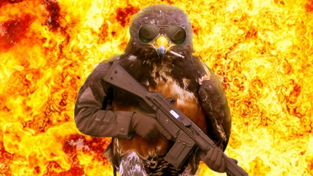 This Hilarious Photoshop Battle Turns a Bird into an Action Hero