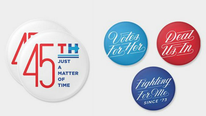 Hillary Clinton Teamed Up With 45 Designers to Make Pins for Her Campaign