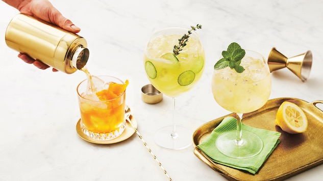 5 Herbaceous Gin Cocktails for Spring