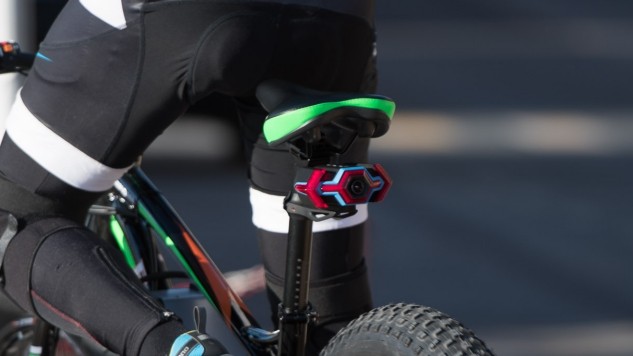 Hexagon Makes Cycling Safer by Combining Turn and Brake Signals, a Rearview Camera and More into One Gadget