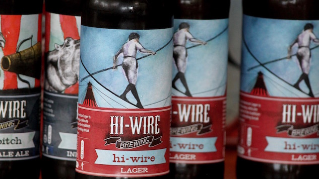 Labels We Love: Hi-Wire Brewing