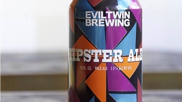 10 Painfully Hip Beer Labels