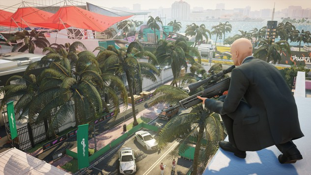 How to Complete Every Redacted Challenge in Hitman 2 - Paste Hitman Sniper Shoot Fuse Box Twice on
