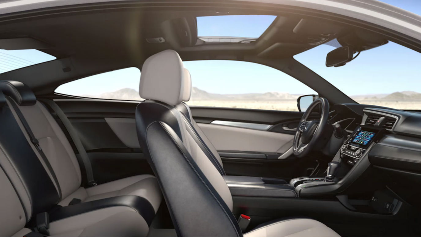 The 2016 honda civic coupe is a 26 125 thrill ride - 2016 honda civic si coupe interior ...