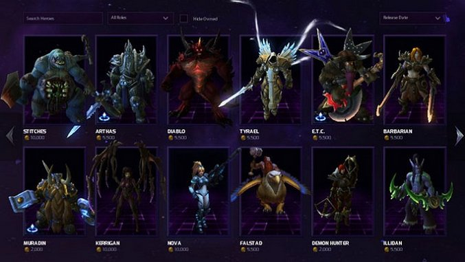 The Best <i>Heroes of the Storm</i> Heroes, Part 1