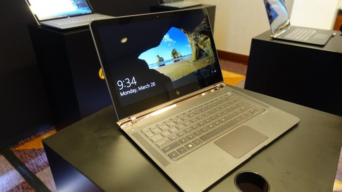 HP Spectre 13 Hands-on
