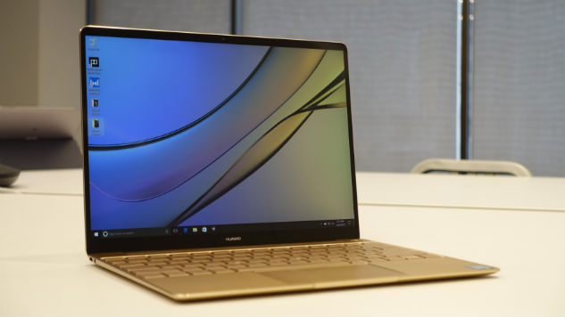Huawei's MateBook X Laptop: Another Serious MacBook Pro Competitor