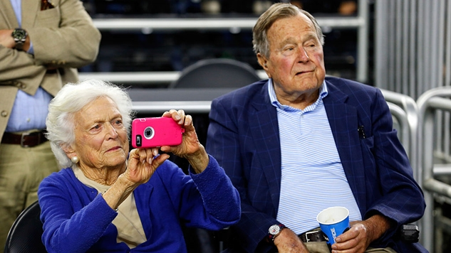 """Accused of Groping an Actress, Former President George H.W. Bush Apologizes For """"Patting Women's Rears"""""""