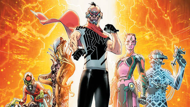 <i>Electric Warriors</i> Writer Steve Orlando Introduces DC Comics' Newest Intergalactic Combatants