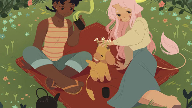 Exclusive: Oni Games Brings Katie O'Neill's <i>The Tea Dragon Society</I> to Tabletop Life