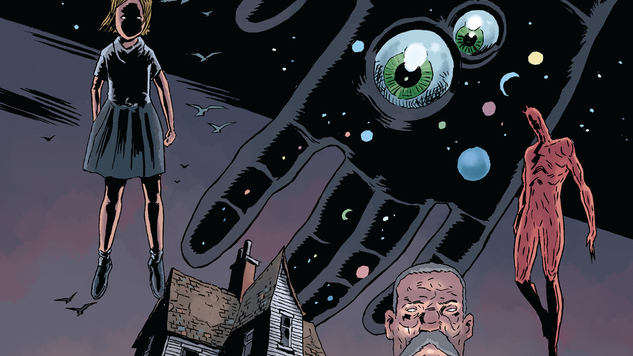 Jeff Lemire & Dean Ormston Explore the Dark Depths of the Ever-Expanding <i>Black Hammer</i> Universe